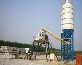 HZS25 Skip-type Concrete Batching Plant