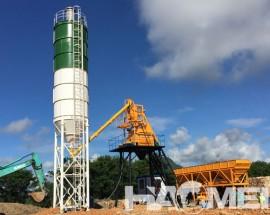 HZS50 Concrete Batching Plant: