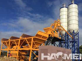 HZS75 series concrete batching plant