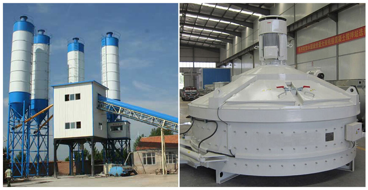 Features of commercial concrete batching plant